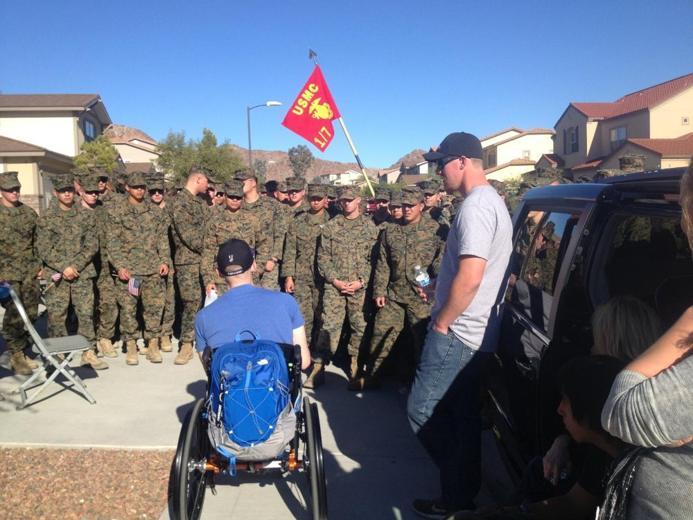 Fundraiser by Dave Smith : USMC SSgt Dodson, WIA Afghan
